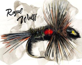 Fly fishing downloads - Royal Wulff pêche à la mouche - fichiers à télécharger