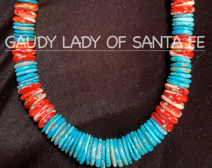 Turquoise Spiny Oyster Necklace