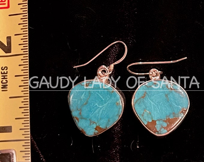 Turquoise Heart Earrings SPECIAL PRICE GROUP
