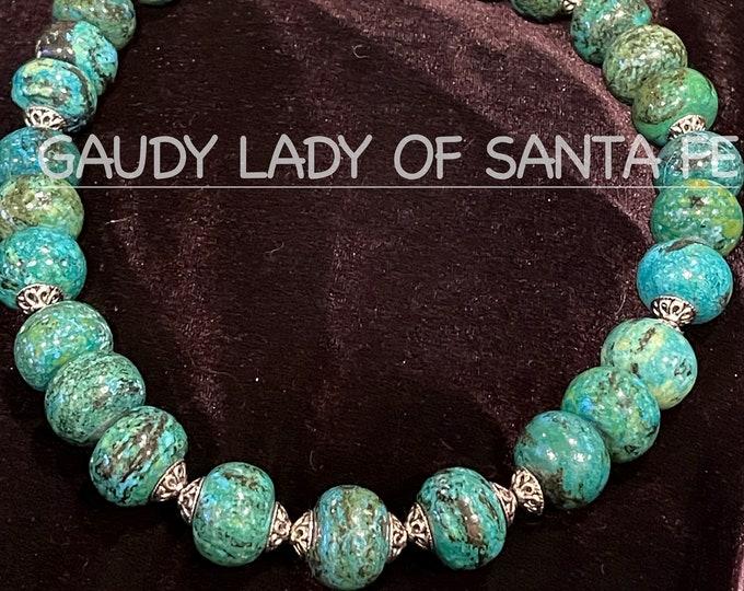 Turquoise Azurite Necklace