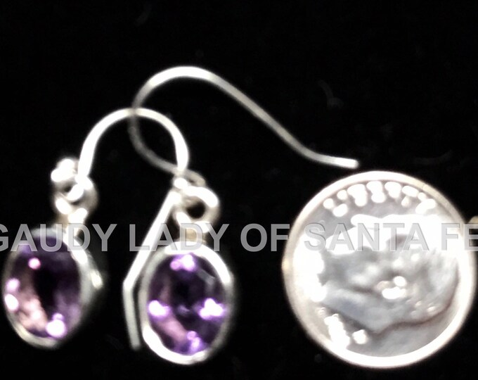 Amethyst Quartz  Dangle Earrings