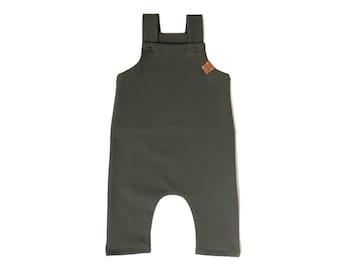 Khaki overalls