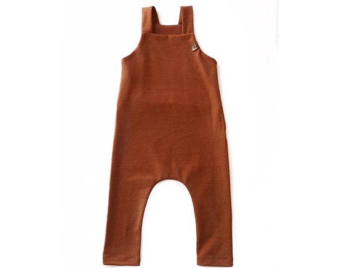 Copper overalls