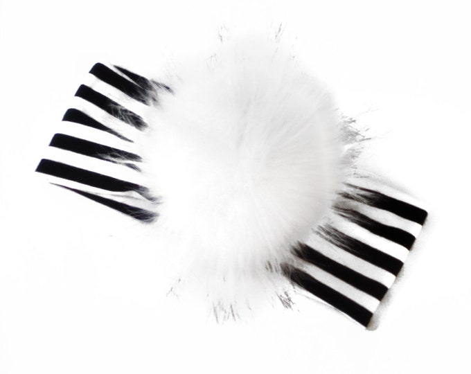 HeadBand stripes XL Pompon