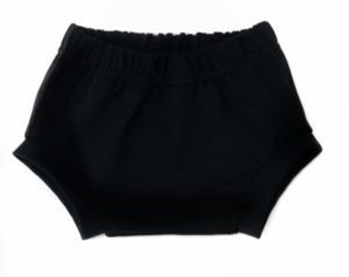Bloomer Black Jersey okeo TeX-baby Bloomer-kids shorts