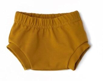 Bloomer mustard Jersey okeo TeX-baby Bloomer-kids shorts