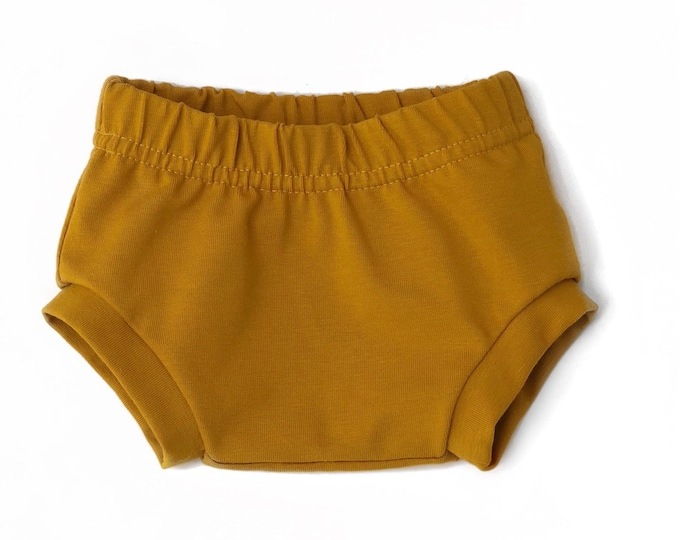 Bloomer mustard Jersey okeo TeX-baby Bloomer-kids shorts