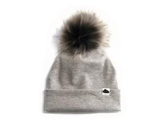 Light Grey Maille Cap