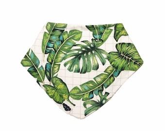 Bib bandana foliage