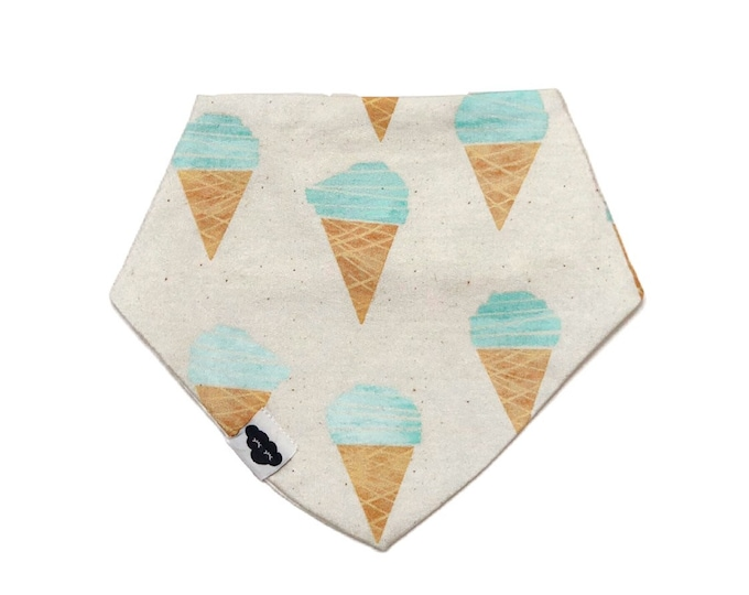Bib bandana ice-cream