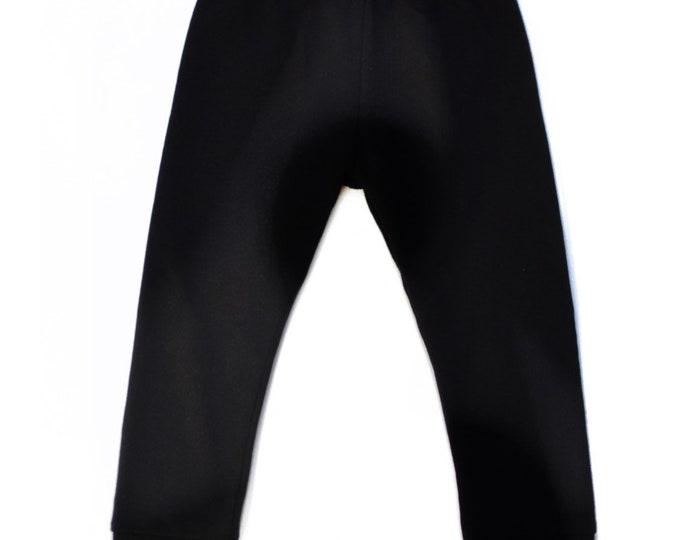 Uni Noir leggings 18/24 months