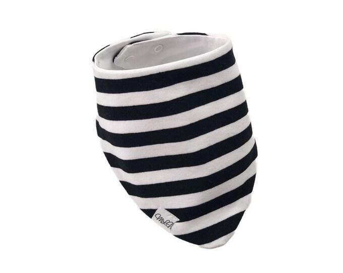 Bandana stripes bib