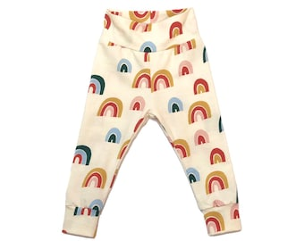Ecru Rainbow leggings