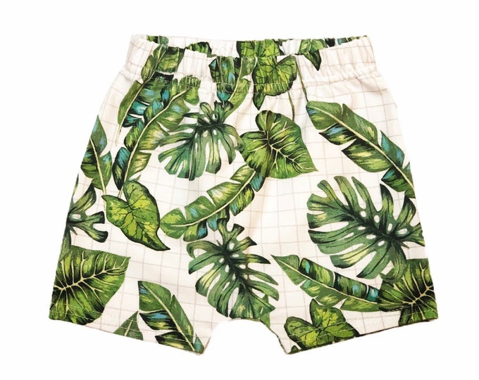 Short foliage-short harem pants-short harem pants cotton-short harem pants-short harem pants baby and child