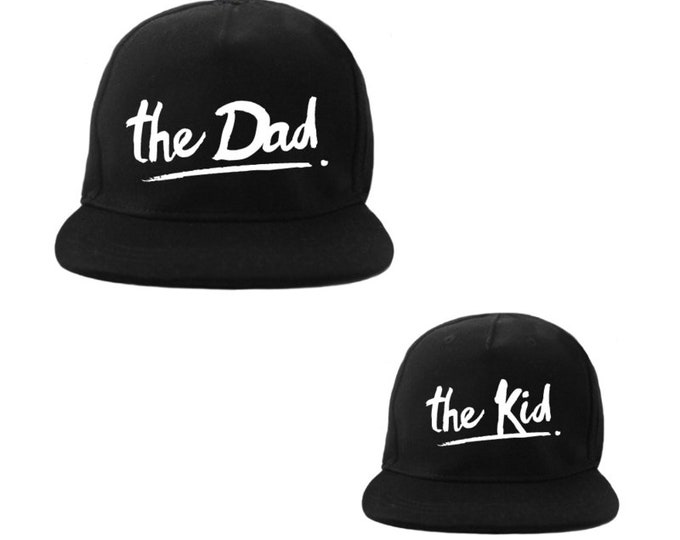 Dad Caps and Kid Duo