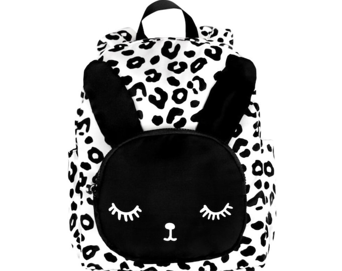 BIG Bunny Leopard Backpack