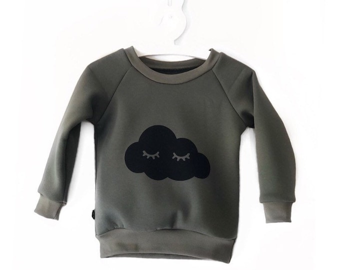 Sleepy cloud khaki Sweatshirt