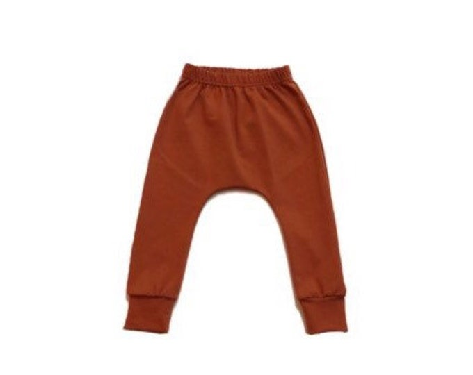 Sarouel trousers copper, sarouel baby, Sarouel uni child