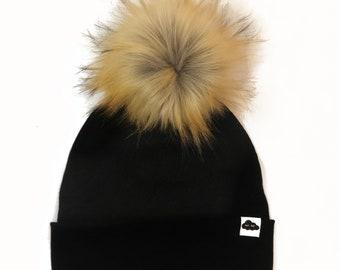 Black Maille Cap