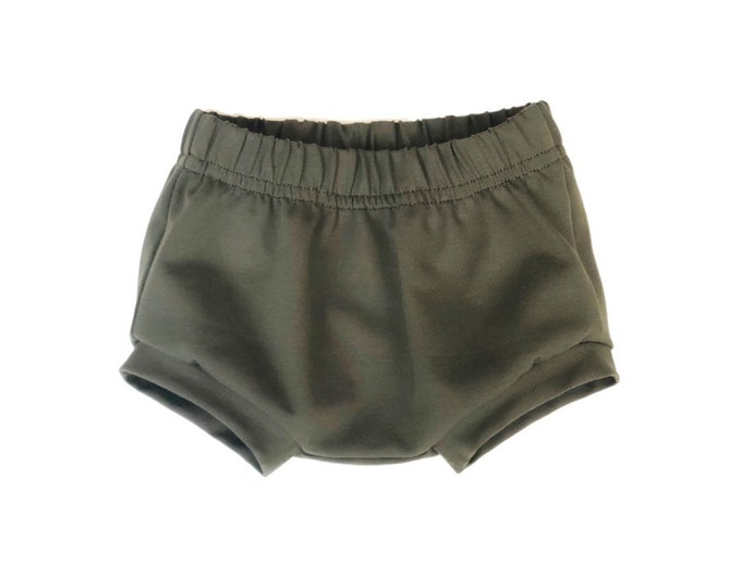 Bloomer Jersey khaki-khaki boy shorts-my little GAB
