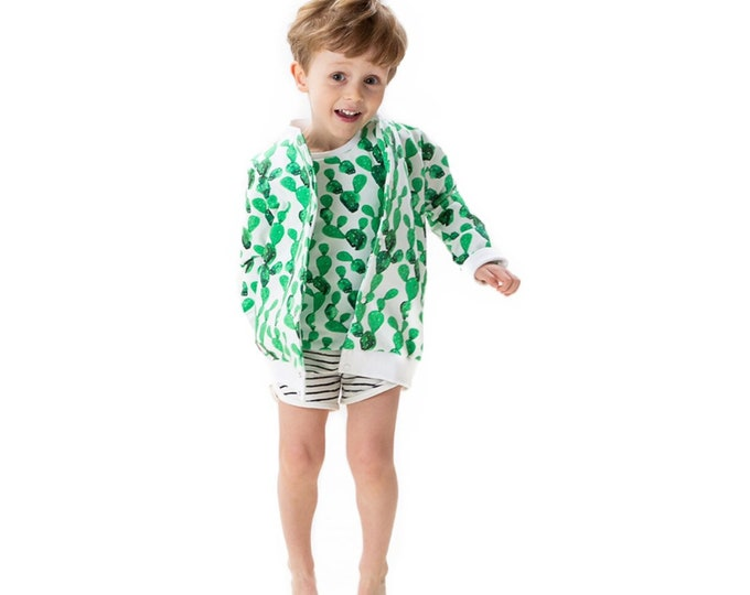 Cactus lightweight Teddy jacket