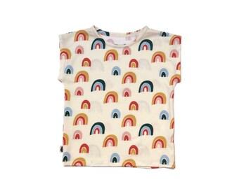 T-shirt Rainbow Ecru