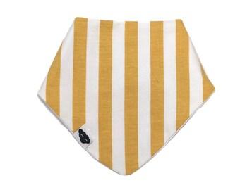 Bib bandana vertical mustard