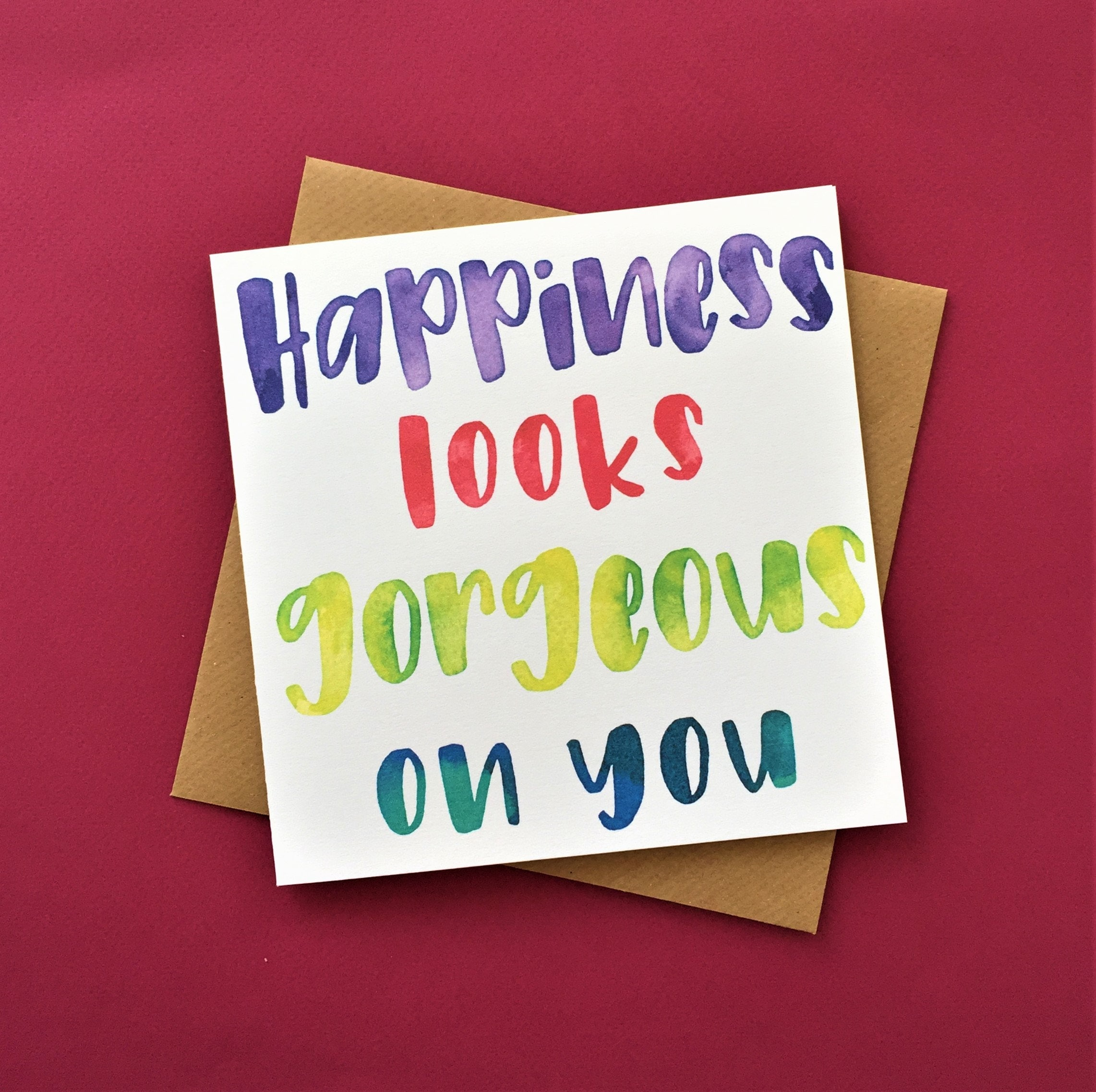 Engagement Card   Wedding Card   Happiness Looks Gorgeous On You ...