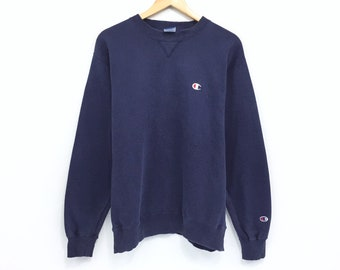 e5668ae1882 Vintage Champion Sweatshirt Champion Small Logo Embroidery Nice Jumper Hip  Hop Swag Lo life