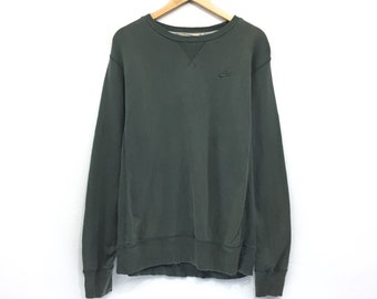 99124678fe06 Nike Sweatshirt Nike Swoosh Small Logo Spellout Pullover Jumper Sweatshirt  Sweater Hip Hop Sportwear