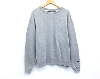 1a94cd0eef41 Vintage Champion Sweatshirt Champion Small Logo Embroidery Nice USA Made  Jumper Hip Hop Swag Lo life Excellent