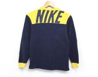 eb080215a1 Nike Sweatshirt Nike Swoosh Small Logo Embroidery Spellout Pullover Jumper Sweatshirt  Sweater Hip Hop Sportwear