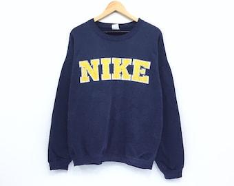 e00b154e Vintage 90's Nike Sweatshirt Nike Spellout Print Pullover Jumper Sweater  Hip Hop Sportwear Nike Canada