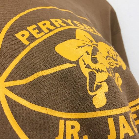 Rare!!! Vintage des années veste 90 Perrysburg Sweatshirt Perrysburg Jr. veste années grande impression Pullover pull pull Parysburg ville Ohio basket Sportwear 6fd0f3