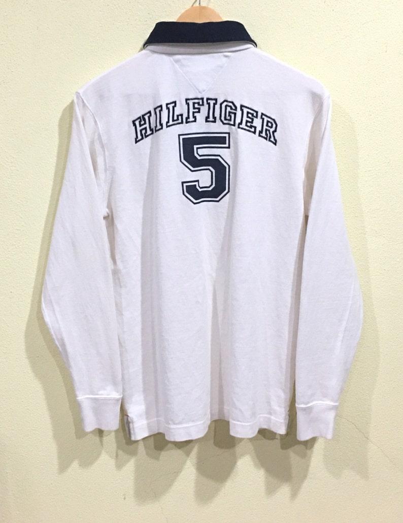 e6e17461cf0d Rare Tommy Hilfiger Long Sleeve Polo Shirt Tommy Hilfiger