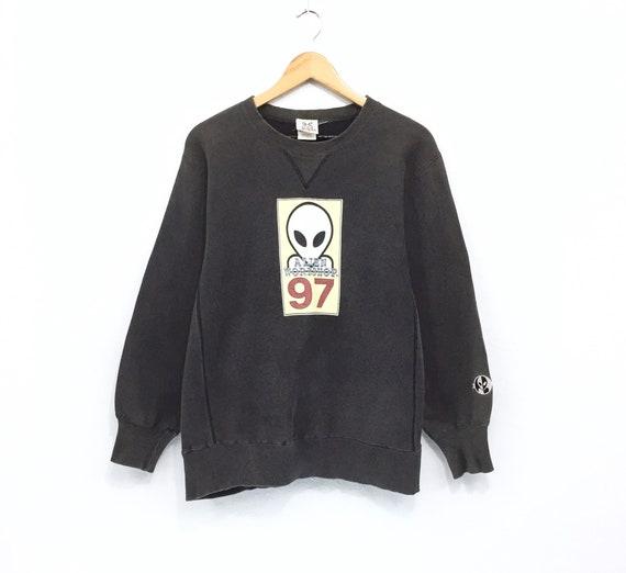 Rare!!! Vintage Alien Workshop Sweatshirt Big Logo