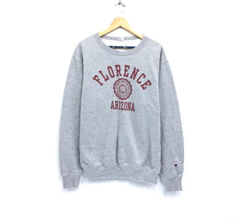 363a8488be13 Rare Vintage Champion Sweatshirt Big Logo Florence Arizona