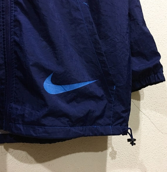 Jacket 90s Track Nike Nike Jacket Embroidered Vintage Spellout Rare Big Logo Size Top Medium Swoosh AnwTRqWffx