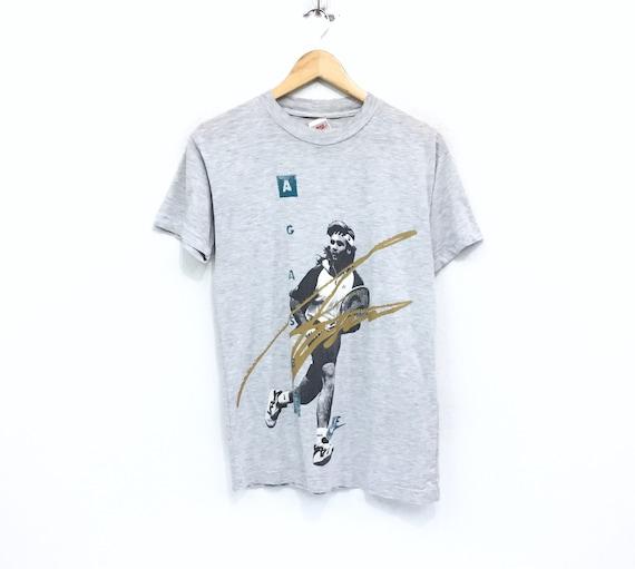 RARE!!! Vintage 90s Nike T-shirt Big Print Nike Ag