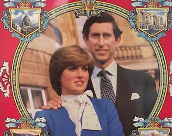 Royal Wedding Commemorative Tray - Collectible - Princess Diana Memorabilia
