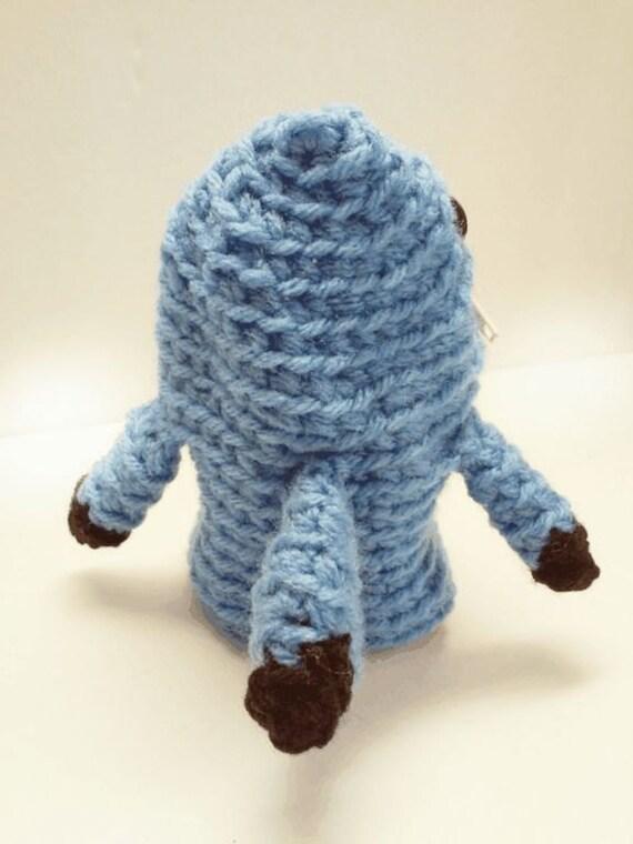 Monster Shark Coin Pouch Crochet Pattern Monster Pattern Etsy