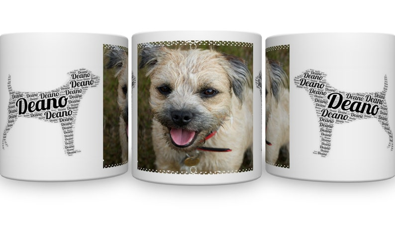 Best Of Breed Westie Silhouette Typography Style Mug Present Gift Boxed
