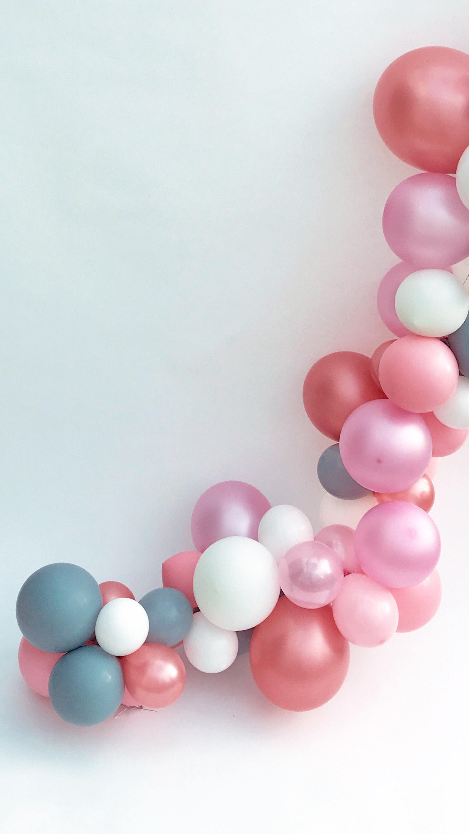8a28ceba3 Rose Gold/ Pink/ Grey Latex Balloons DIY Balloon Garland- Balloon ...
