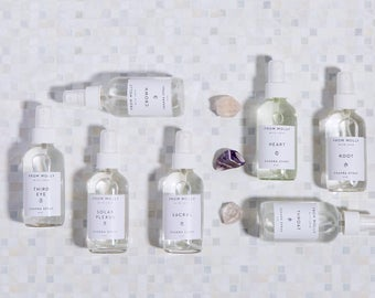 Chakra Aromatherapy Kit - From Molly With Love | Seven Chakra Body Spray Set