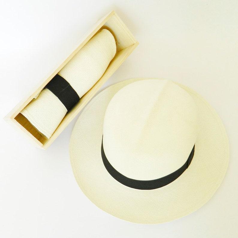 879edfe6d Foldable Panama Hat white