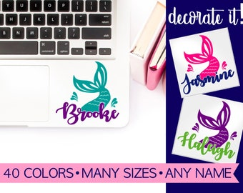 Mermaid Laptop Decal Stickers LPMM1A