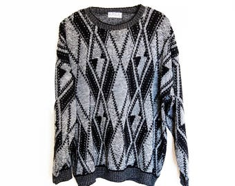 70s Chevron Sweater