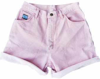 SALE - Pink High Waisted Shorts