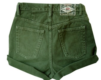 SALE - Forest Green High Waisted