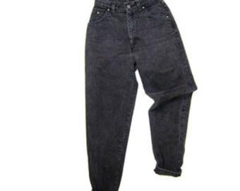 b235befd1a4 SALE - Black High Waisted Denim Pants